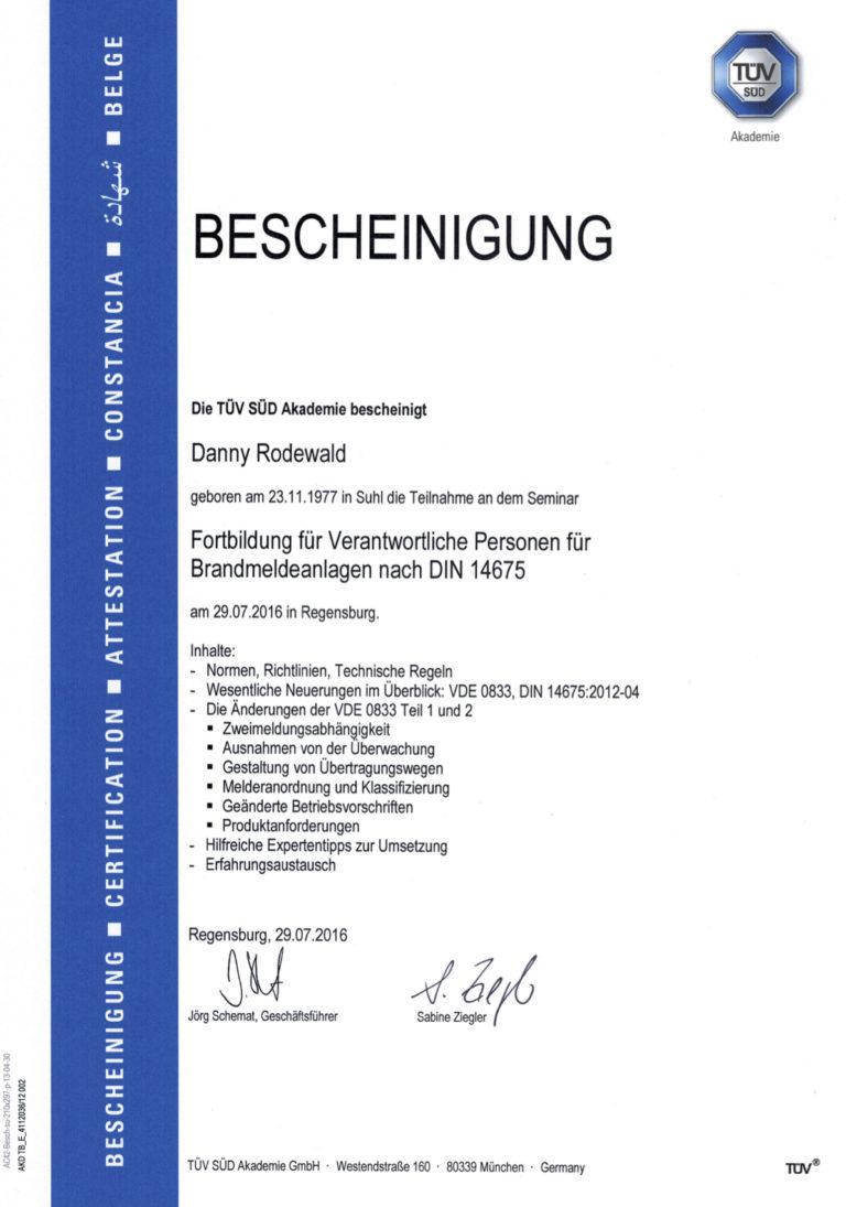 DIN14675_Fortbildung
