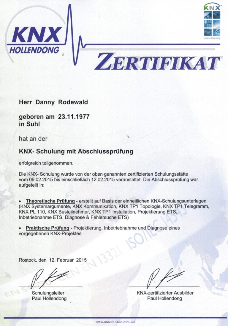 KNX_Zertifikat
